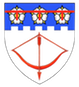 The shield of the Coat of Arms of the author.