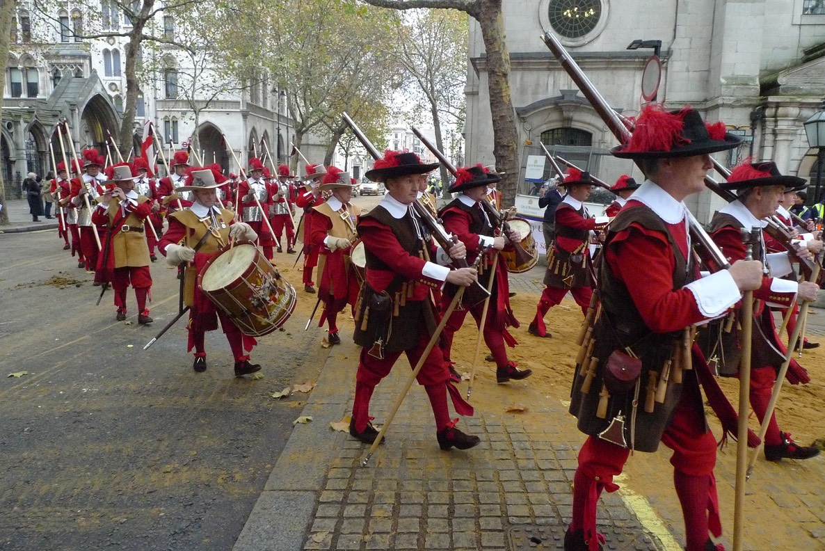 Pikemen & Musketeers at Lord Mayor's Show 2011